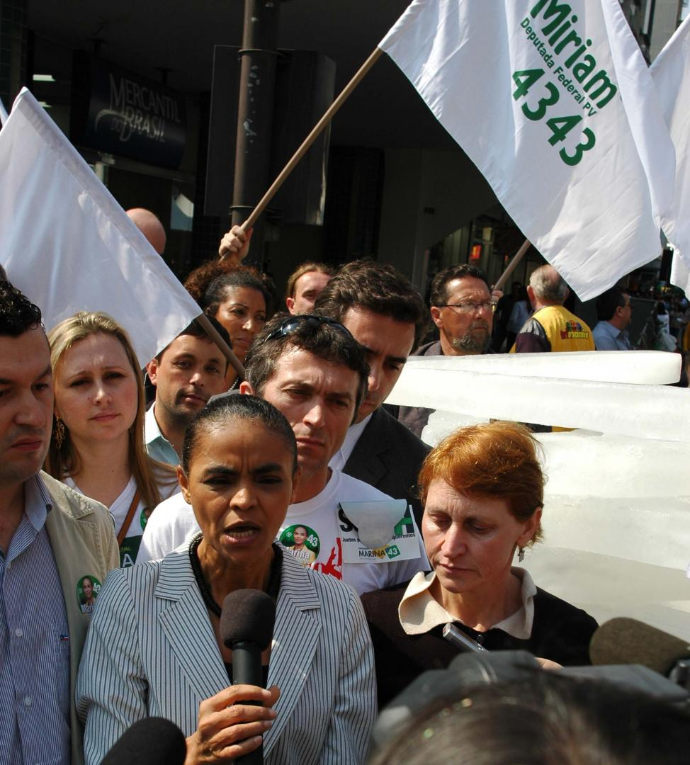 Marina e Miriam prometem criar Agência Nacional do Clima