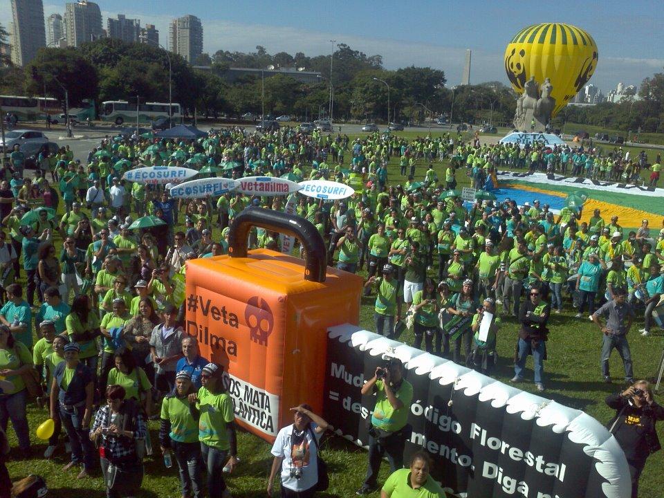 Dilma, vete tudo que o Brasil garante