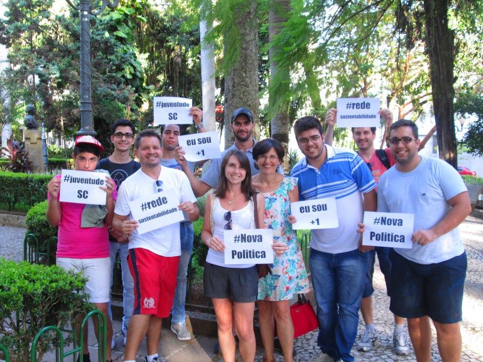 Rede ganha forma em Santa Catarina