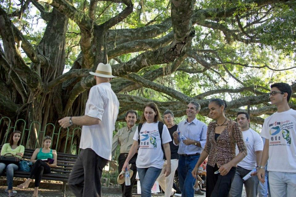 Rede Sustentabilidade comemora 500 mil assinaturas de apoio no sábado