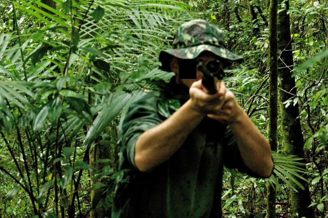 Caçador agride ambientalista com arma de fogo
