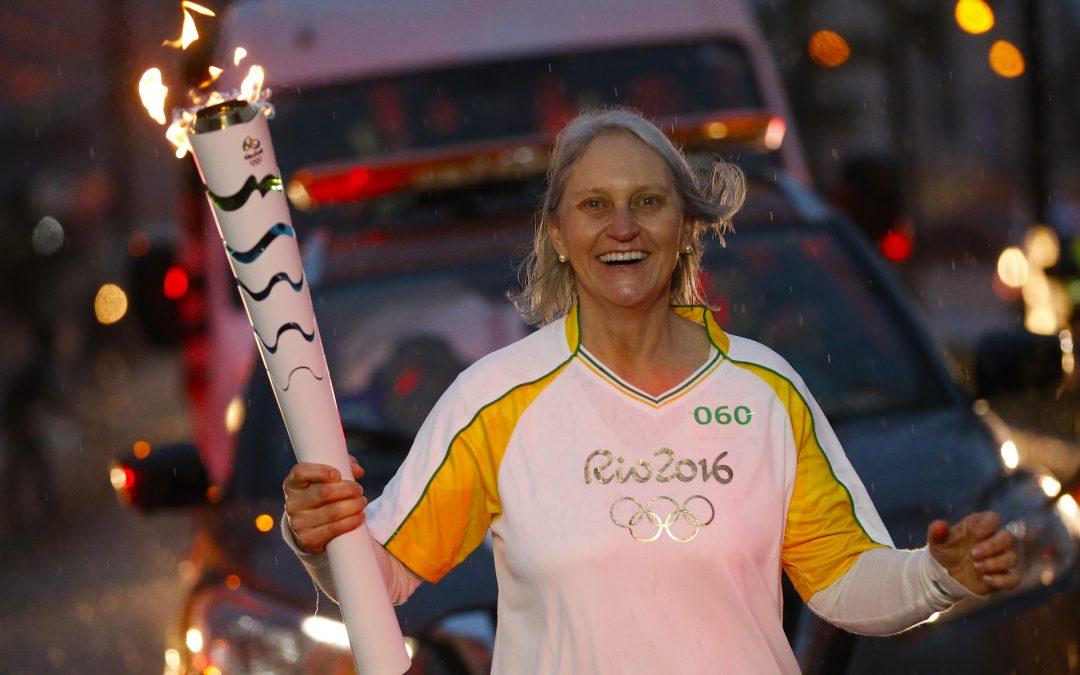 Dia histórico com Tocha Olímpica