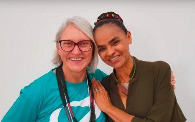 Miriam Prochnow anunciou pré-candidatura ao Senado pela REDE em Santa Catarina