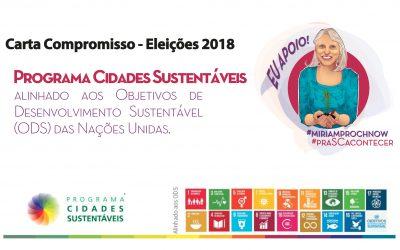 Miriam Prochnow mantém sintonia com o Programa Cidades Sustentáveis